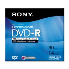 Sony DVD Recordable Media - DVD-R - 2x - 1.40 GB - 1 Pack