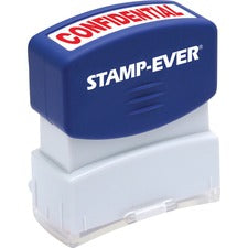 Stamp-Ever Pre-inked Confidential Stamp