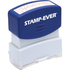 Stamp-Ever Pre-Inked Red Faxed Stamp