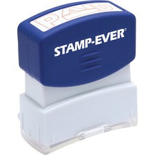 Stamp-Ever Pre-inked Red Paid Stamp