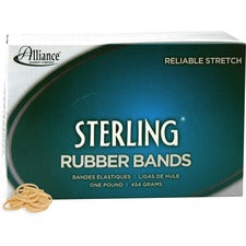 Alliance Rubber 24085 Sterling Rubber Bands - Size #8 - 1 lb Box