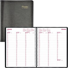 Brownline Soft Cover Twin-wire Weekly Planner