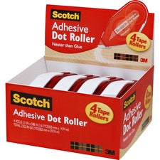 Scotch Adhesive Dot Roller Value Pack - 0.31