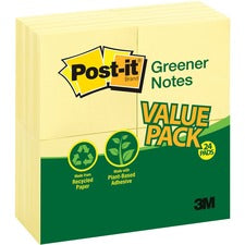 Post-it® Greener Notes Value Pack