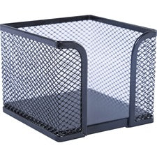 Lorell Black Mesh/Wire Memo Holder
