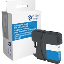 Elite Image Remanufactured Ink Cartridge - Alternative for Brother (LC61YW)