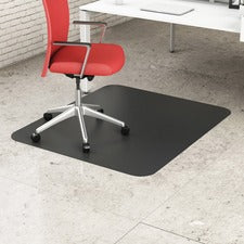Deflecto Black EconoMat for Hard Floors