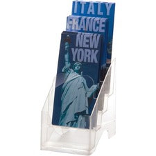 OIC Leaflet Holder, 4-Tier, 4 1/8