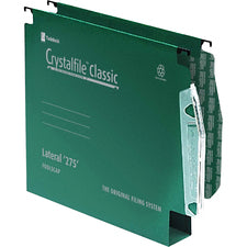 Swingline Classic '275' Lateral File 50mm Green (50)