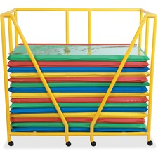 Children's Factory Rest Mat Storage Trolley