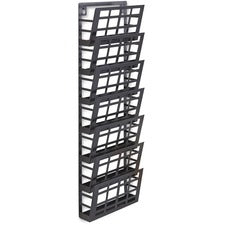 Safco 7-pocket Grid Magazine Rack