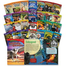 Shell Education Time for Kids Book Challenge Set Printed Book