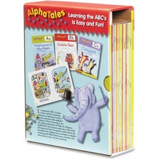 Scholastic Res. Pre-K AlphaTales Book Set Printed Book