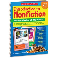 Scholastic Introduction To Nonfiction Flip Chart Printed Book