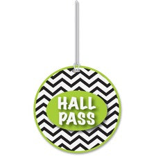 Ashley Chevron Design Hall Pass