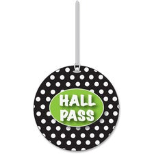 Ashley Black/White Dots Hall Pass