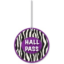 Ashley Zebra Design Hall Pass
