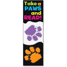 Trend Take-a-Paws and Read Bookmark