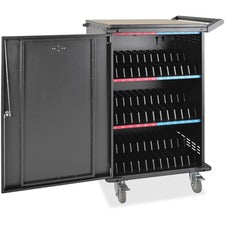 Tripp Lite 36-Port AC Charging Cart Storage Station Chromebook Laptop Tablet