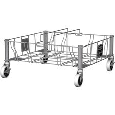 Rubbermaid Commercial Stainless Steel Double Dolly