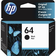 HP 64 (N9J90AN) Ink Cartridge - Black