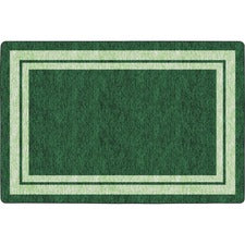 Flagship Carpets Double Light Tone Border Clover Rug