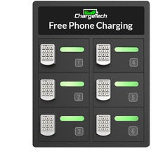 ChargeTech 6-Bay Cell Phone Charging Locker