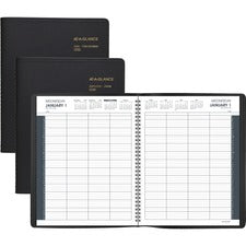 At-A-Glance 8-Person Group Daily Appointment Book