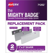Avery® Replacement Pack for Mighty Badge Professional Name Badge System