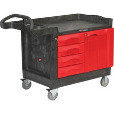Rubbermaid Commercial TradeMaster Work Utility Cart