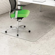 Deflecto Earth Source Hard Floor EconoMat with Lip