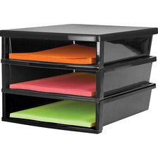 Storex Quick Stack Construction Paper Sorter