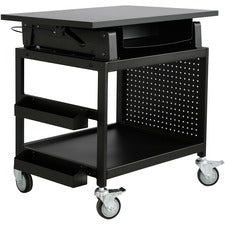Lorell Mobile Industrial Workstation