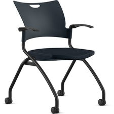 9 to 5 Seating Bella Fixed Arms Mobile Nesting Chair