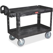 Rubbermaid Commercial Heavy Duty Ergo Handle Utility Cart