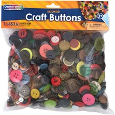 Pacon Craft Button Variety Pack