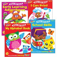 Trend Early Learning Wipe-Off Book Set Printed Book