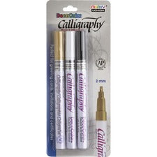 Marvy DecoColor Calligraphy Paint Markers