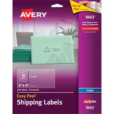 Avery® Shipping Labels - Sure Feed