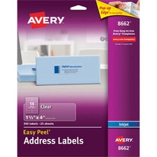 Avery® Address Labels - Sure Feed