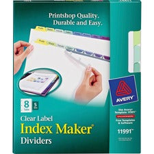 Avery® 8-Colored Tabs Presentation Divider