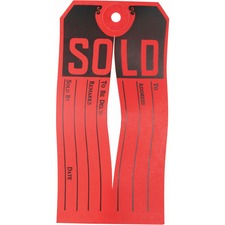 Avery® Sold Tags - Knife Slit