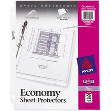Avery® Economy-Weight Sheet Protectors