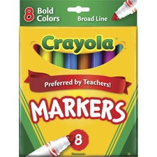 Crayola Regular Bold Colors Broad Line Markers
