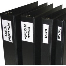 C-Line Self-Adhesive Binder Label Holders