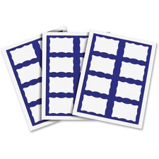 C-Line Name Tag Label Sheets for Laser/Inkjet Printers