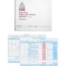 Dome Check And Deposit Register