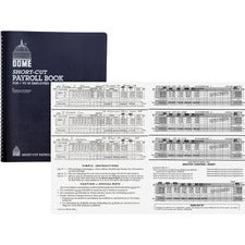 Dome Short-Cut Payroll Book