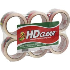 Duck Brand HD Clear Packing Tape