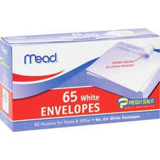 Mead No.6.75 All-purpose White Envelopes